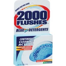 2000 Flushes Automatic Toilet Bowl Cleaner