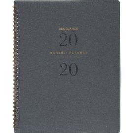 Signature Collection Monthly Planner, Gray