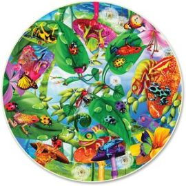 Creepy Critters 500-Piece Round Puzzle