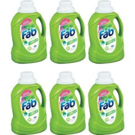 Fab Spring Magic Ultra Laundry Detergent