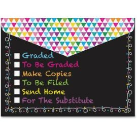 Checklist Snap Cover Poly Folders