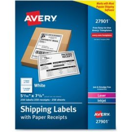 Bulk Shipping Labels with Paper Receipt