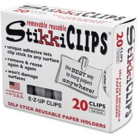 StikkiClips Adhesive Clips