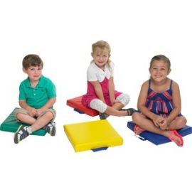 4-Piece Square Carry Me Cushion