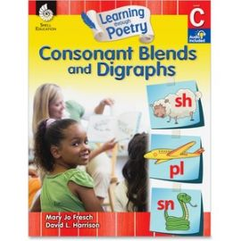 K-1st Learn Poetry Blends/Digraph Book