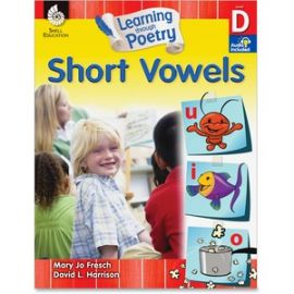 K-2nd Learn Poetry Short Vowels Book