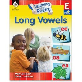 K-2nd Learn Poetry Long Vowels Book