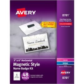 Magnetic Style Name Badges