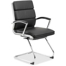 Contemporary Executive Guest Chair In Caressoft Plus