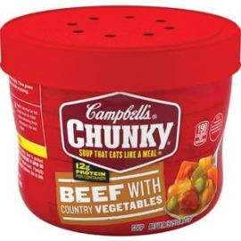 Chunky Beef/Country Vegetables Soup