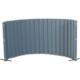"""Quiet Divider with Sound Sponge 48"""" x 10? Wall - Slate Blue"""