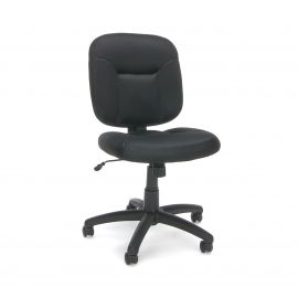 Essentials by OFM ESS-101 Armless Task Chair, Black