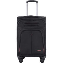 """Swiss Mobility Travel/Luggage Case (Carry On) for 15.6"""" Notebook, Travel Essential - Black"""