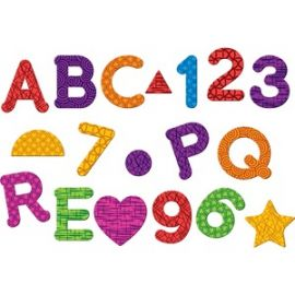 Magnetic Numbers Letters/Shapes Set