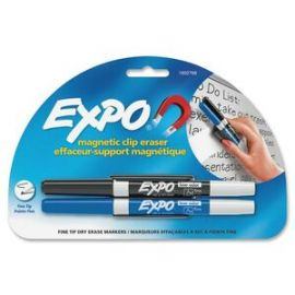 Magnetic Clip Eraser with Markers