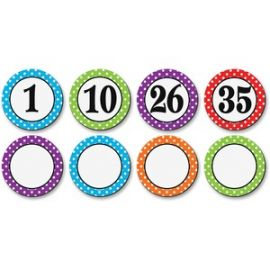 Dots/Numbers Magnetic Accents