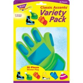 Winter Play Accents Variety Pack