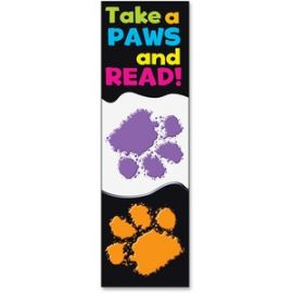 Take-a-Paws and Read Bookmark