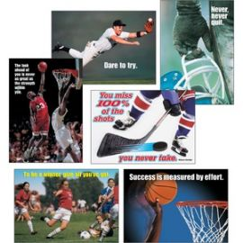 Sports Motivating Posters Combo Pack