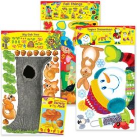 School Year Seasons Decorative Combo Set