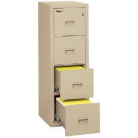 FireKing 4R1822-CBL Turtle Fireproof File Cabinet-Fire Resistant File Cabinet-4 Drawer