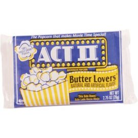 Butter Lovers Microwave Popcorn