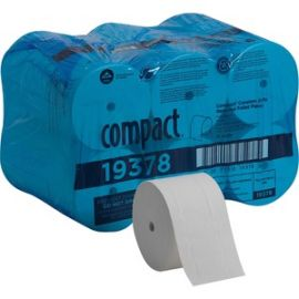 Coreless Recycled Toilet Paper