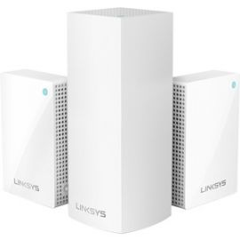 Velop Intelligent Mesh WiFi System, Tri-Band, 3-Pack with Plug-Ins (AC4800)