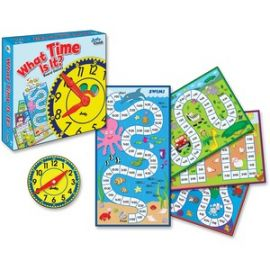 Grades K-3 What Time Is It Board Game