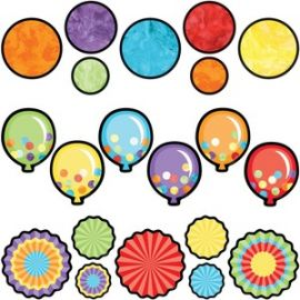 Celebrate Learning Colorful Cut-Outs