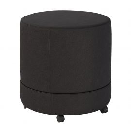 Bush Business Furniture Thrive Mobile Pod Seat in Black Fabric