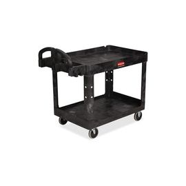 Medium Utility Cart with Lipped Shelf