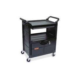 Lockable Storage Utility Cart
