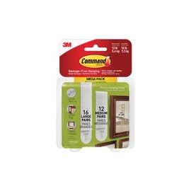 Command Picture Hanging Strips Mega Pack