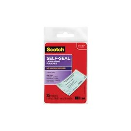 Self-sealing Laminating Business Card Pouches