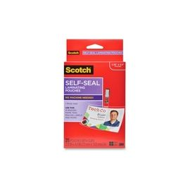 Self-Laminating ID Clip-Style Pouches
