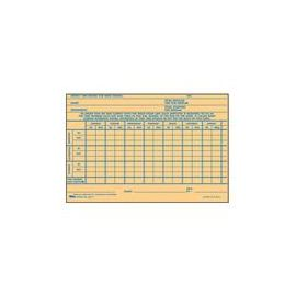 Handwritten Weekly/Overtime Time Cards