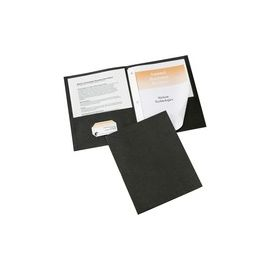 Two-Pocket Folders with 3 Prong Fasteners