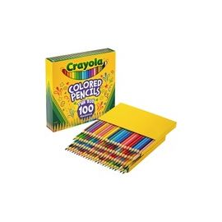 100-count Colored Pencils - Unique Colors - Pre-sharpened
