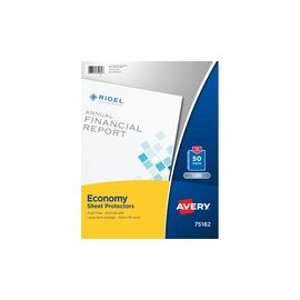 Economy Clear Sheet Protectors