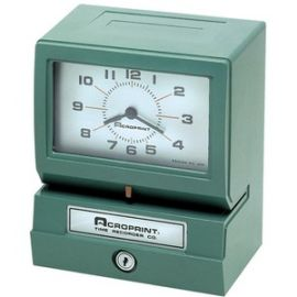 Electric Print Time Recorders