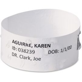 EasyBand Medical Wristbands with Chart Labels