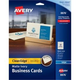 True Print Clean Edge Business Cards - 2-Sided Printing