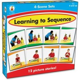 Learning To Sequence 4-scene Board Game