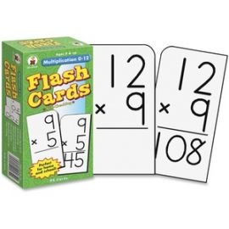 Grades 3-5 Multiplication 0-12 Flash Cards