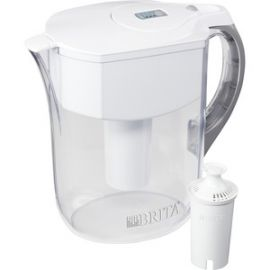 Large 10-Cup BPA-Free Grand Water Pitcher with Filter
