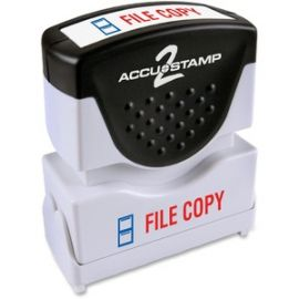2-Color Shutter Stamp with Microban