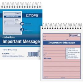 1CPP Duplicate Important Message Book