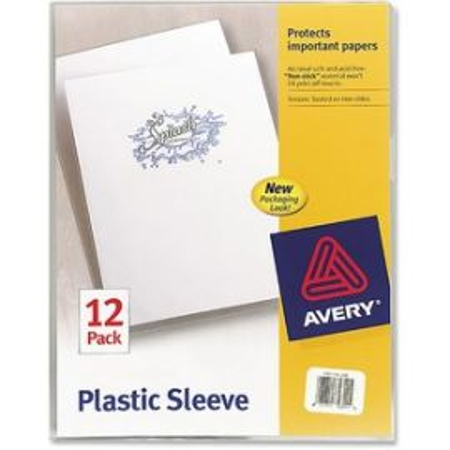 Avery® Plastic Sleeves