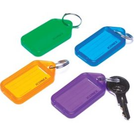 Bright Color Key Tags